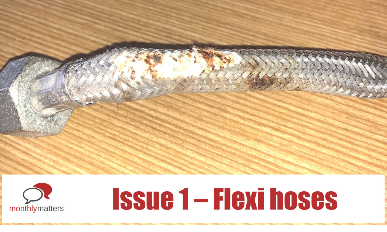 Monthly Matters – Flexi Hoses